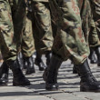 Soldiers march in formation — Stock Photo #12841229