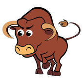 Child taurus — Stock Vector