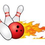 Bowling symbol — Stock Vector #16930029