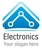 Eletronics icon — Stock Vector