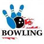 Bowling symbol — Stock Vector #18776329