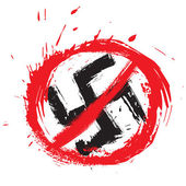 No nazi symbol — Stock Vector