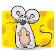 Cute mouse — Stock Vector #21806047