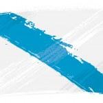 Bandiera di Galizia grunge — Vettoriale Stock