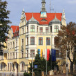 Town hall in Zgorzelec — Stock Photo