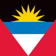 Antigua and Barbuda flag — Stock vektor
