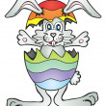 Easter bunny — Stock Vector #5279259
