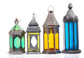 Arabic lamp Isolated a White Background — Stock Photo