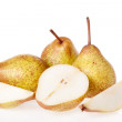 Close up Pear on a white background — Stock Photo