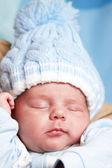 новорожденного мальчика — Стоковое фото