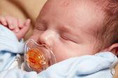 Mały chłopiec noworodka — Zdjęcie stockowe