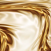Gold on the white drapery artistic texture — Stock Photo