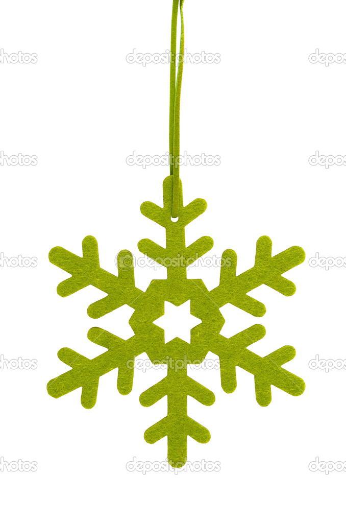 绿星,圣诞树装饰