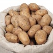 Stock Photo: Bag With Potatoes