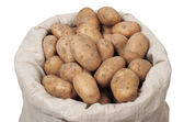 Bag With Potatoes — Stock Photo