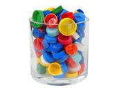 Recycling - Screw Caps — Stock Photo