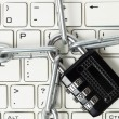 Locked keyboard — Stock Photo #41192779