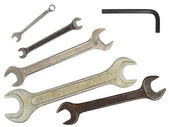 Set of wrenches — Stock Photo