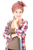Vacker ung kvinna — Stockfoto