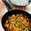 Chicken  meat with vegetables - Foto de Stock