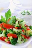 Broccoli salad — Stock Photo