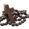 Wooden rosary  — Stock Photo