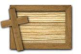 Arka plan yapılmış ahşap plakalar — Stok fotoğraf