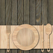 背景所作的木板 — 图库照片