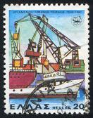 Ships in port — Stock Photo