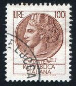 象征着意大利的女人 — 图库照片