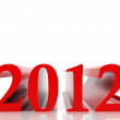 New 2012 year - Stock Photo