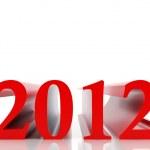 New 2012 year — Stock Photo