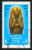 Statue de toutankhamon — Photo
