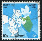карта синай — Стоковое фото