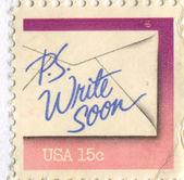 Redacción de cartas — Foto de Stock