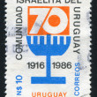 Stock Photo: Anniversary of Jewish Community in Uruguay