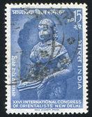 Statue von lakshmi — Stockfoto