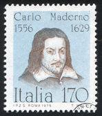 Carlo Maderno — Stock Photo