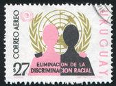 国連エンブレム — ストック写真