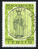 Boccaccio przez andrea del castagno — Zdjęcie stockowe
