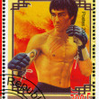 Stock Photo: Poster Bruce Lee