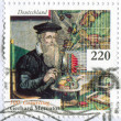 Scientist Gerardus Mercator - Stock Photo