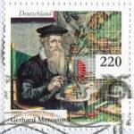 Scientist Gerardus Mercator — Stock Photo
