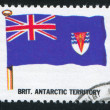 British Antarctic Territory flag - Foto Stock
