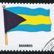 Bahamas flag - Stockfoto