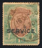 King George VI — Stock Photo