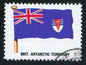Bandera del territorio antártico británico — Foto de Stock
