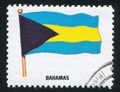 Bahamas flag — Stock Photo