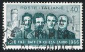 Italian Patriots — Stock Photo