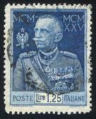 König viktor emanuel iii — Stockfoto